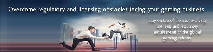 Overcome regulatory and licensing obstacles facing your gaming business